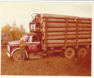Heideman - 1st load of logs